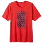 grow tee red heather