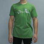 Climbing Works Skyline Green Tee