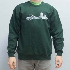 Climbing Works Skyline Green Jumper
