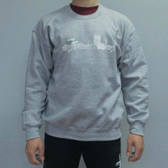 Climbing Works Skyline Grey Jumper