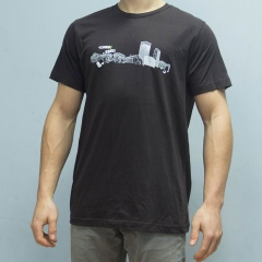 Climbing Works Skyline Brown Tee